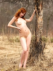 Red-haired Nude Nymph